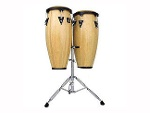 Foto Set Congas Aspire Madera Lpa646aw Natural