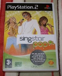 Foto Juego ps2 singstar pop